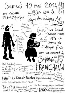 2014 - Le Cabinet / Genève - Savon Tranchand - Dessin par Ibn Al Rabin